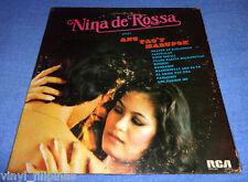 PHILIPPINES:NINA DE ROSSA - Ang Tao'y Marupok,LP ALBUM,OPM,Tagalog,RARE