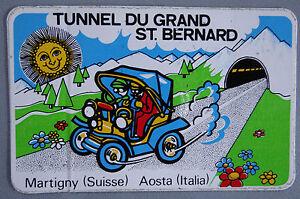 Bumper Stickers Tunnel You Grand Pcs Bernard Martigny Aosta 80er Classic Car
