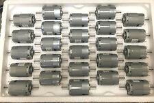 Mabuchi 12VDC Motor 2100-2900 rpm DUAL SHAFT hobbies RC CARS (LOT of 25 motors)