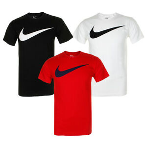 Nike-Men-039-s-Short-Sleeve-Swoosh-Graphic-Active-T-Shirt