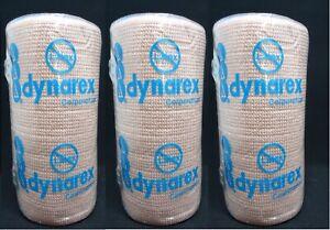 3 Dynarex Elastic Bandage Wrap Beige Color Latex Free Each 4 X 5 Yd Item J617 Ebay