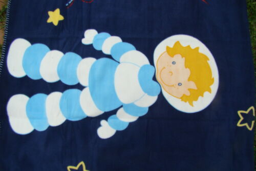 Fleece Decke Astronaut Tom 125 x 170 cm NEU OVP