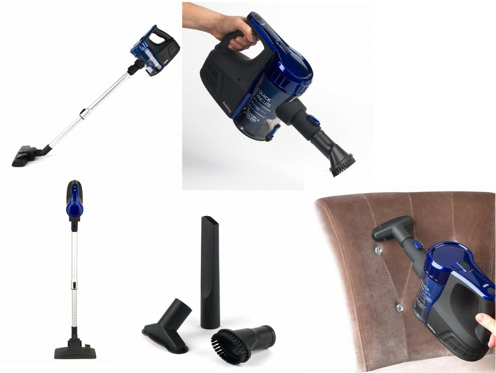 Beldray BEL0737 Cordless Quick VAC Lite Vacuum Cleaner 0.5 Litre 22.2 V Blue