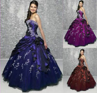 Stock Suit Evening Party Formal Prom Homecoming Dress Ball Gown Size 6-16