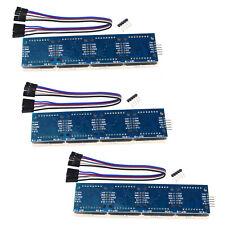 1x//2x MAX7219 Dot Matrix Display 5Pin Line LED Module 4 in 1 Display for Arduino