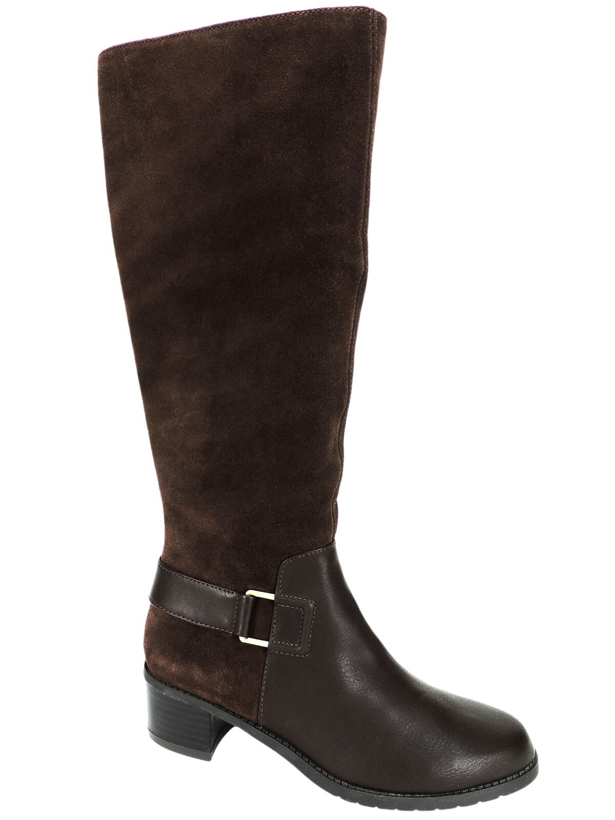 Aerosoles Women's After Hours Tall Boots Dark Brown Combo Size 5.5 M