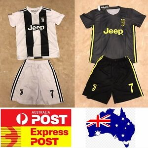 online store 8e3ec 75618 Details about Cristiano Ronaldo Juventus Jerseys, home white sets or away  black sets