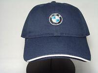 Bmw Recycled Brush Twill Men's Baseball Hat Cap ( Navy) 80160439605