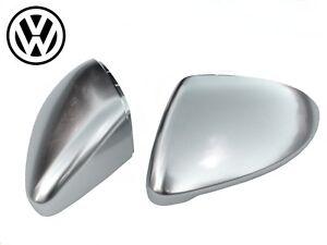 coque r troviseur finition alu pour vw golf 7 r tro vii r chrome mat aluminium ebay. Black Bedroom Furniture Sets. Home Design Ideas