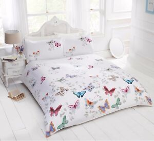 Bedding-Heaven-Multi-Colour-Butterfly-Duvet-Cover-with-Pillowcases-Mariposa