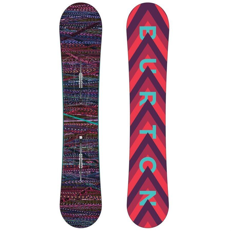 NEW 2018 Burton Feather Snowboard - Flat Top, EST - Size [149 cm.]