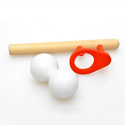 Blowing Balls Games Floating Ball Game Blow Toy Wooden Pipe Balance