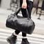 US-Men-039-s-Large-Travel-Duffle-Gym-PU-Leather-Roll-Luggage-Shoulder-Handbag-Bag thumbnail 12