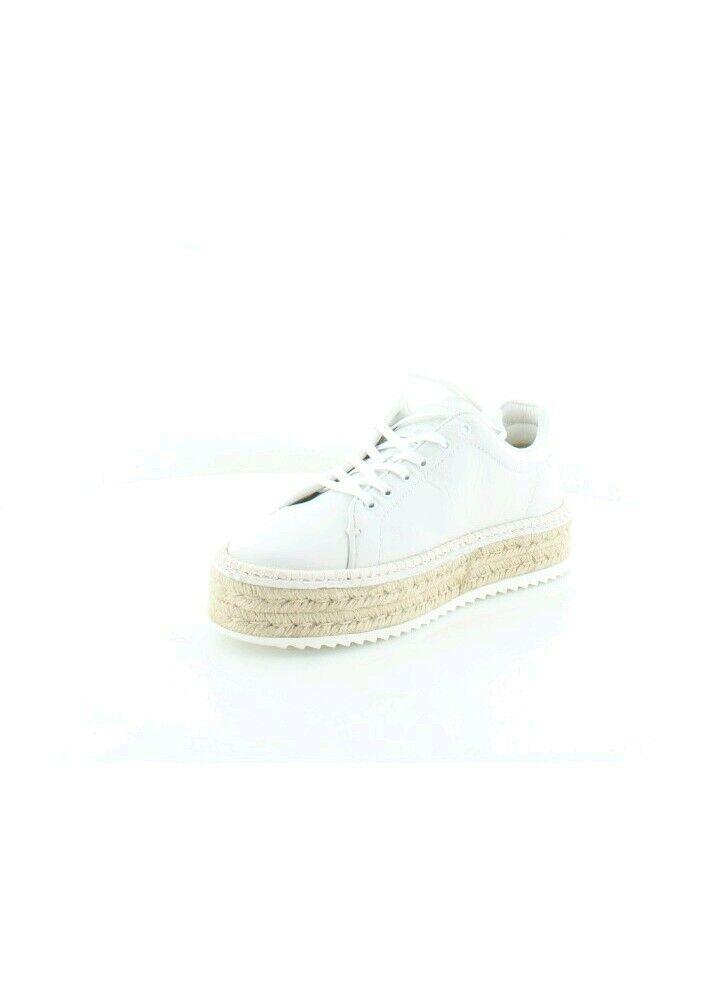 Rag & Bone Kent kvinnor vit läder Platform Esfarille Sneeaker skor Sz 11  350