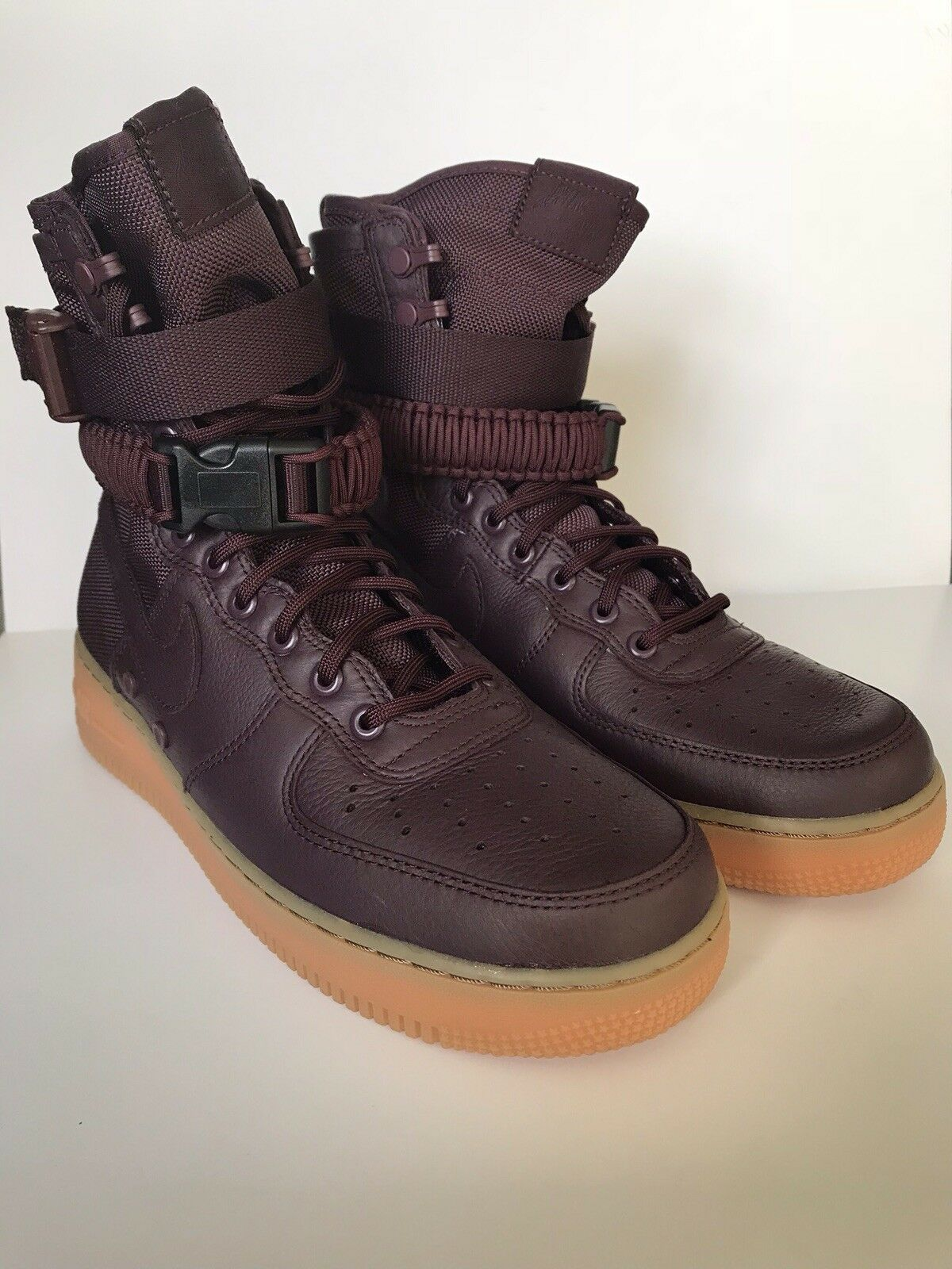 Nike SF AF1 Special Field Air Force Boots Size 9 Deep Burgundy 864024-600