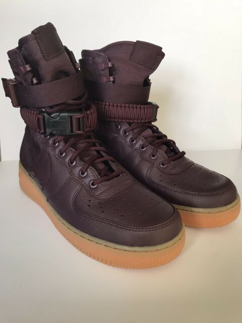 7c6e5ae04a6 Nike SF AF1 Special Field Air Force Boots Size 9 Deep Burgundy 864024-600