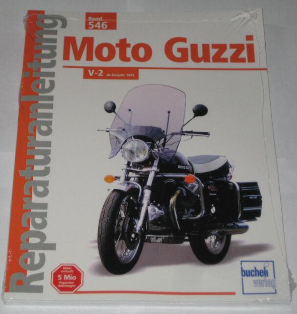 Repair Manual Moto Guzzi 750 S/S S3,850 T / T3, California le Mans V-1000