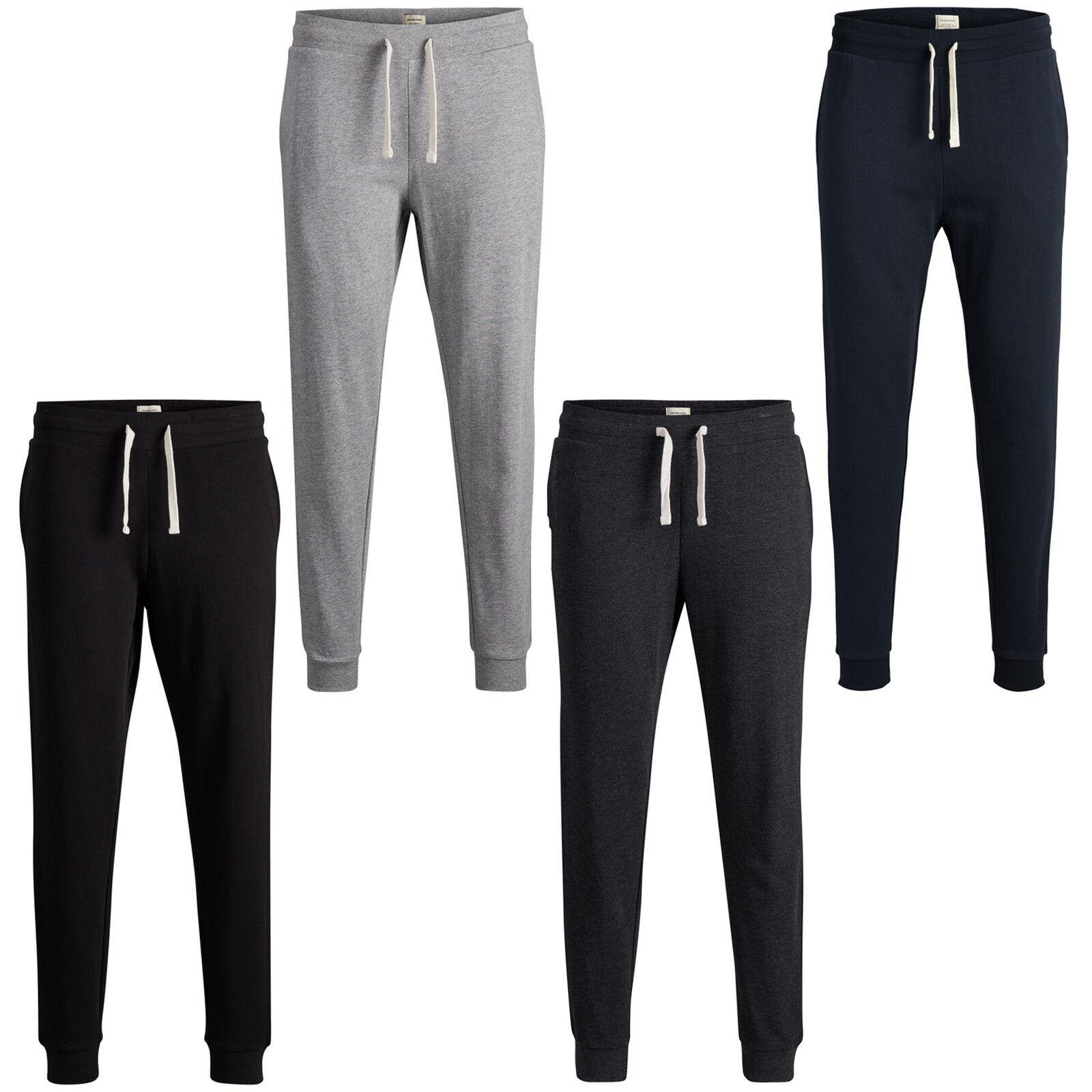 Jack & Jones Essentials Sweat Homme Pantalon Homme Sweat Décontracté Gym Fitness Pantalon De Survêtement jjeholmen a89604
