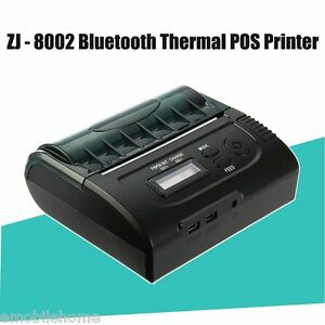 Details about ZJ - 8002 80mm Bluetooth 2 0 Android POS Receipt Thermal  Printer for Supermarket