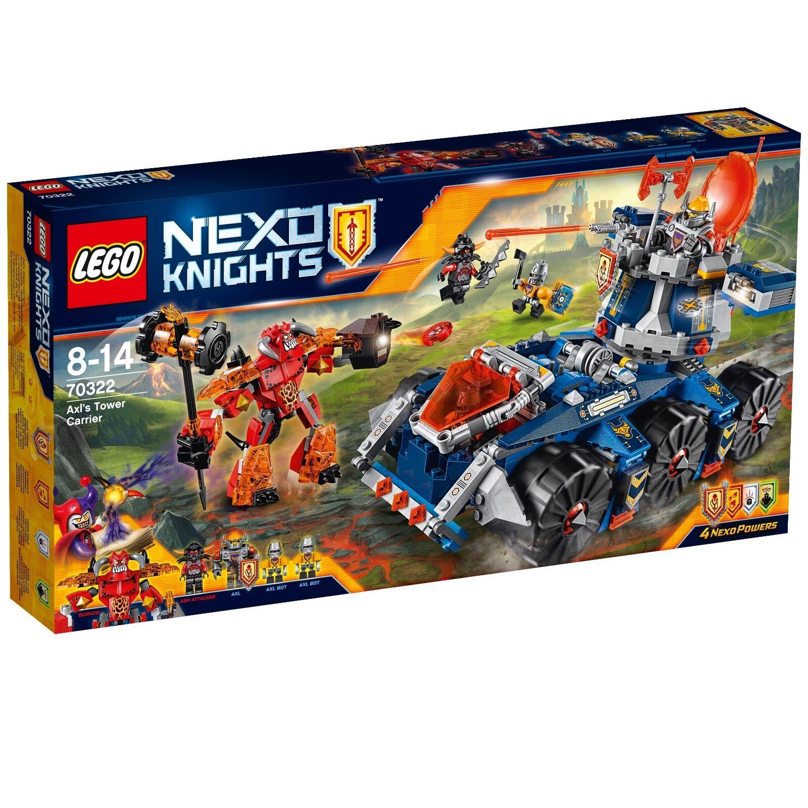 LEGO® Nexo Knights™ 70322 Axls mobiler Verteidigungsturm NEU OVP NEW MISB NRFB