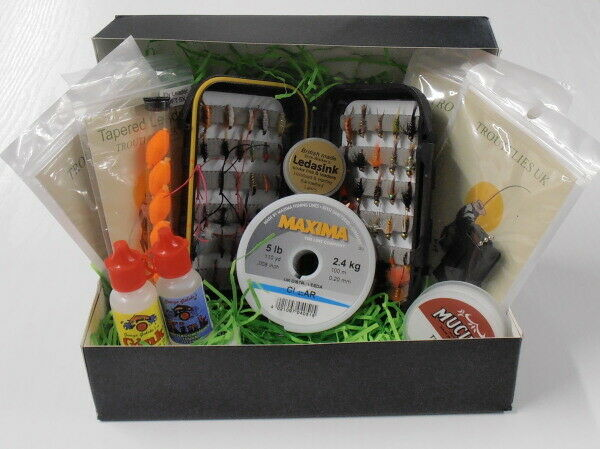 Fly Fishing Gift Set, gift wrapping available, perfect present (set4)