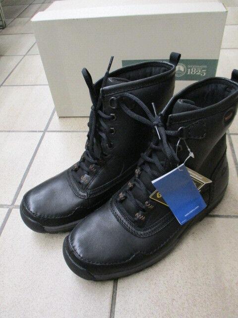 Casual salvaje Clarks señores invierno botas botines Rain Hi GTX 20340661 negro (G)