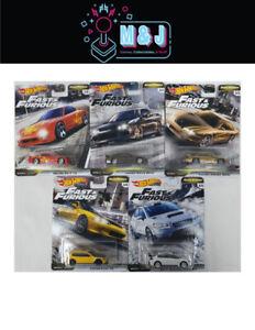 Hot-Wheels-Fast-amp-Furious-Fast-Tuners-Set-1-5-Nissan-Honda-Mazda-Aus-Seller