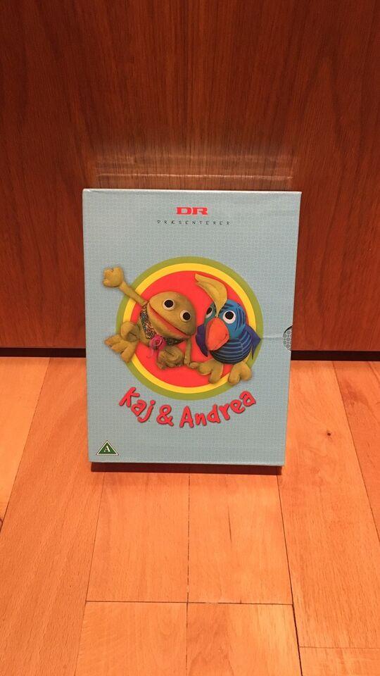 Kaj og Andrea Box, instruktør DR, DVD