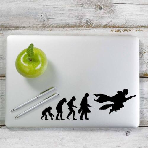 Laptop and More # 1007 Harry Potter evolution Decal Sticker for Car Window