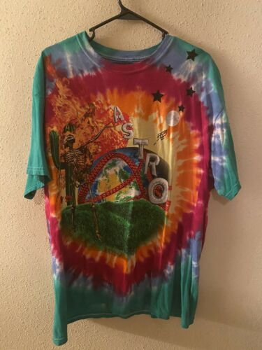 Travis Scott Astroworld Tie Dye Shirt XL