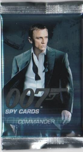 JAMES BOND 007 COMMANDER  BASE BASIC  CARDS CHOOSE