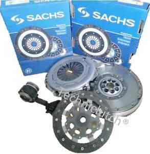 Ford-Focus-II-1-8-TDCi-1-8-TDCi-Kit-De-Embrague-Csc-y-Sachs-Doble-Masa-Rigida-Volante-DMF