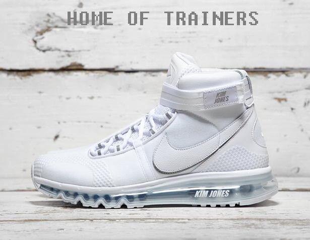 Nike Kim Jones Air Max 360 blanc  Hommes Trainers All Sizes