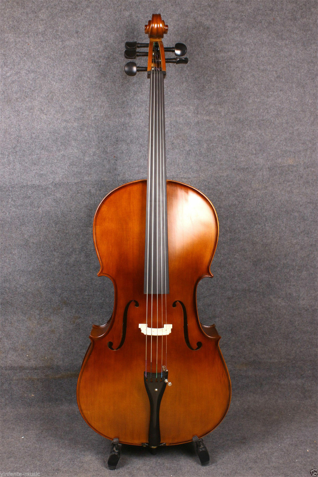 Yinfente 5strings 4 4 Acoustic Cello Full size Spruce+maple Handmade  EC1