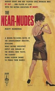 Beacon-Signal-B527-The-Near-Nudes-by-Matt-Harding-Vintage-Sleaze-Paperback