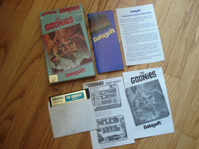 Commodore 64 | The Goonies | Datasoft -- Tested/Works (C64/128)