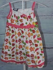 Wellkids,Chiffon Girls Kids Party /& Casual Summer Light  Slip-on Dress 4T