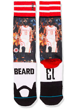 06f5fe756ec5 item 5 NWT Mens L 9-12 Stance NBA Large Houston Rockets James Harden Socks  Beard Crew -NWT Mens L 9-12 Stance NBA Large Houston Rockets James Harden  Socks ...