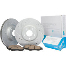 [REAR] Brake Disc Rotors & Ceramic Pads fits Ford Mustang GT 05 - 10 & V6 05-14