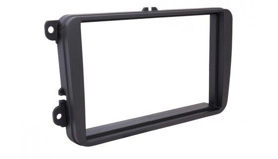 For Seat Toledo 4 KG León 2 1P Car Radio Panel Mounting Frame Double Din 2-DIN