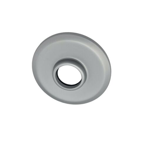 Aqualisa Quartz Exposed Digital Shower Rail Ceiling Cover Plate in Silver 223210
