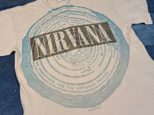 Vtg 2003 Nirvana Vestibule Grunge rock concert tou