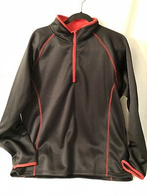 Activewear Tops 2019 New Style The Weather Apparel Co Long Sleeve 1/4 Zip Shirt Men's Size Xl Delaying Senility Men's Clothing