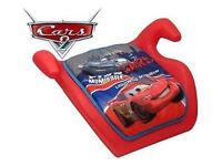 Disney Cars Children Kids Baby Toodler Car Safety Booster Seat Age 3+ Boys