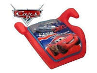 Disney Cars Children Kids Baby Toodler Car Safety Booster Seat Age 3+ Boys