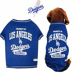 598a85f61b2 MLB Pet Fan Gear LA LOS ANGELES DODGERS Dog Shirt Tee for Dogs BIG ...