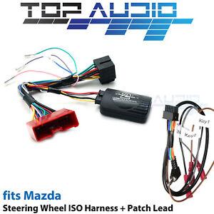 Aerpro CHMZ12C for Mazda Steering wheel control harness adaptor + patch  lead   eBay   2014 Mazda 6 Wiring Harness Cls      eBay