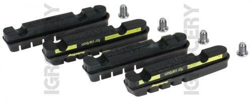 SwissStop Flash EVO Black Prince Carbon Rim Brake Pads x2 Pairs New