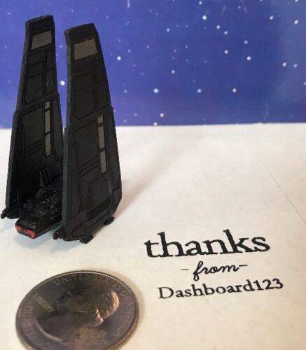 2015-2017 Kylo Ren's Command Shuttle Micro Machines Star Wars