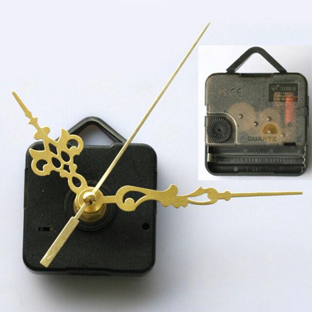 Quartz Clock Movement Mechanism Long Spindle Gold Hand Repair Kit Tool Parts /au